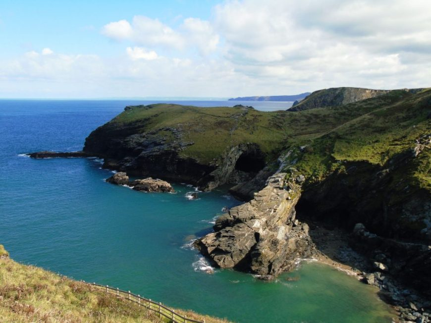 Views from Tintagel Castle