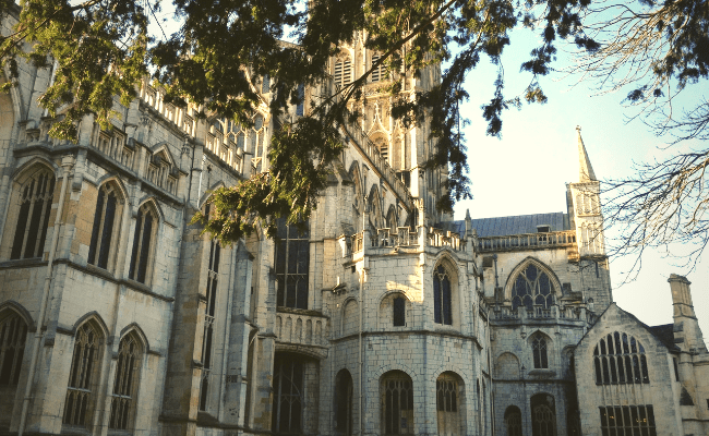 Gloucester Cathedral Harry Potter Filming Location