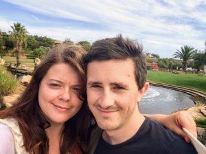 Justine & Scott in Sardinia