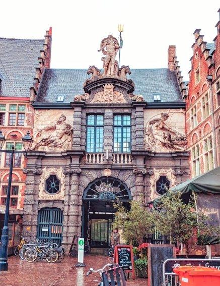 Old Fish Market Gateway, Ghent
