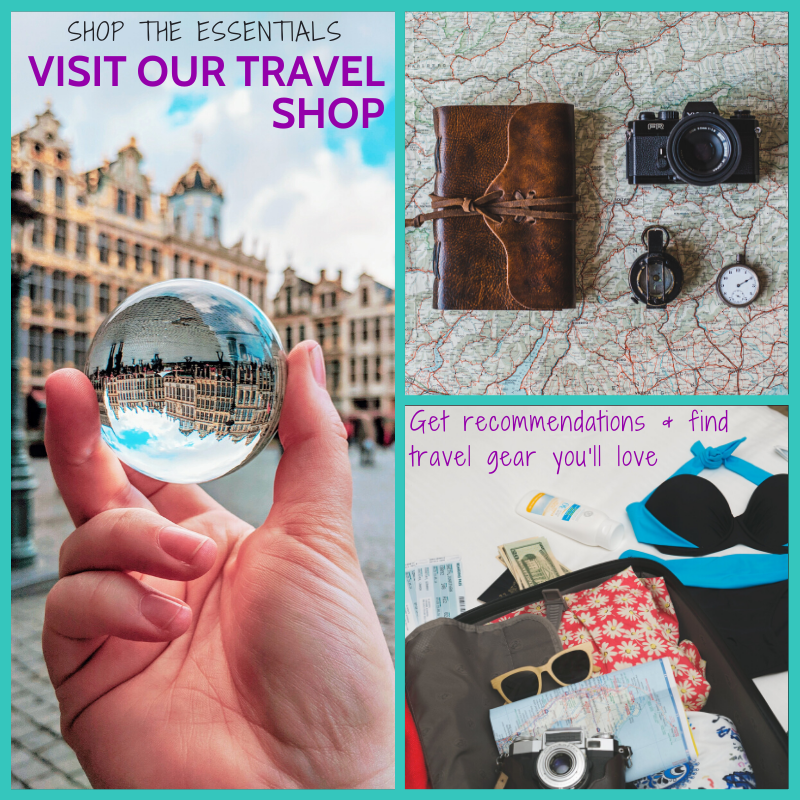 Visit our travel shop