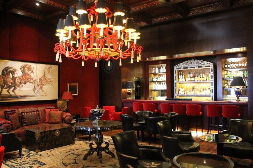 Brussels cafe bar