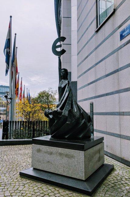 European Parliament Statue