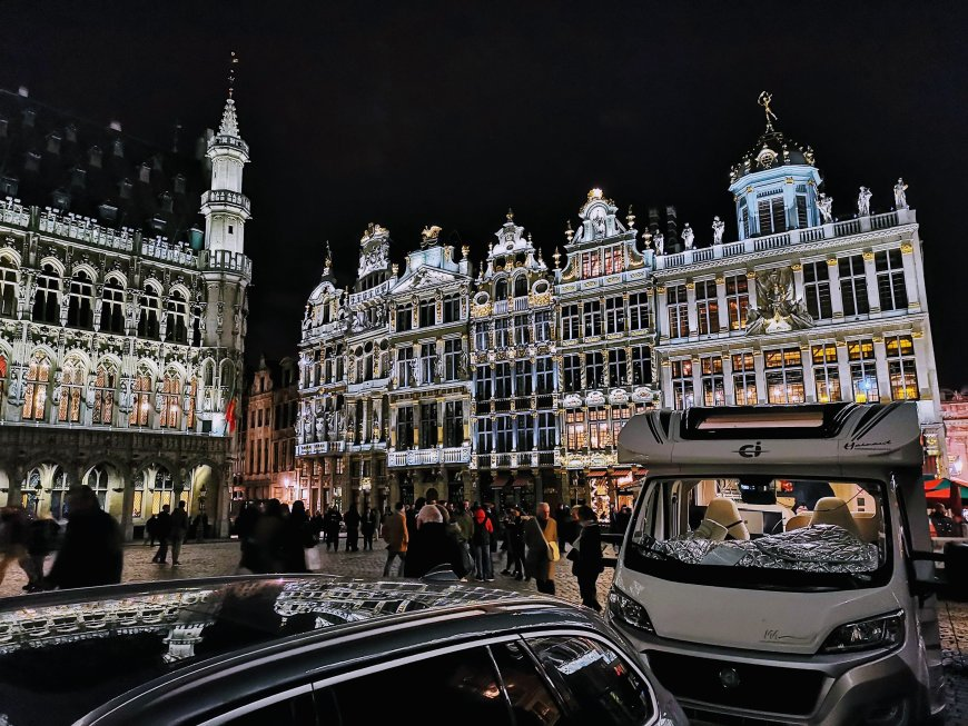 Grand-Place At Night