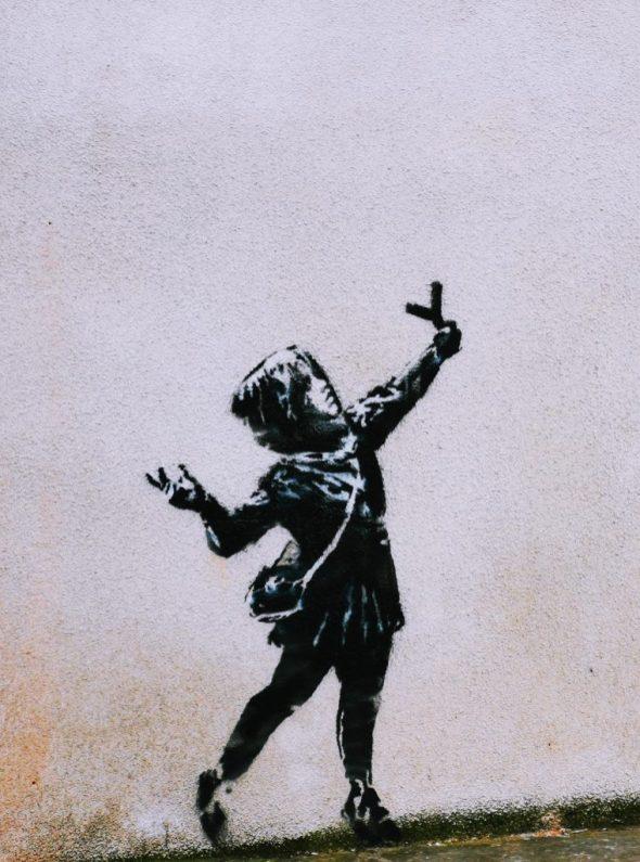 Banksy Bristol - Barton Hill