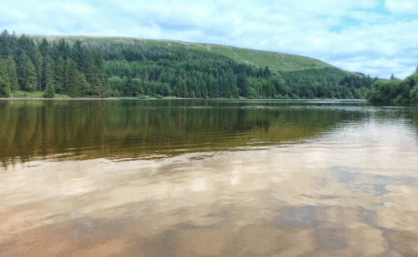 Stunning Brecon Beacons Walks: Pontsticill Reservoir