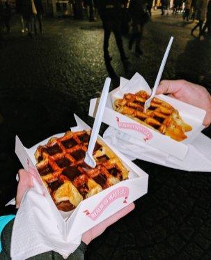 Souvenirs from Belgium: Belgian Waffles