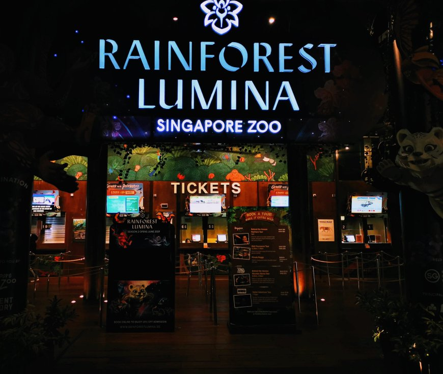 Rainforest Lumina at Singapore Zoo