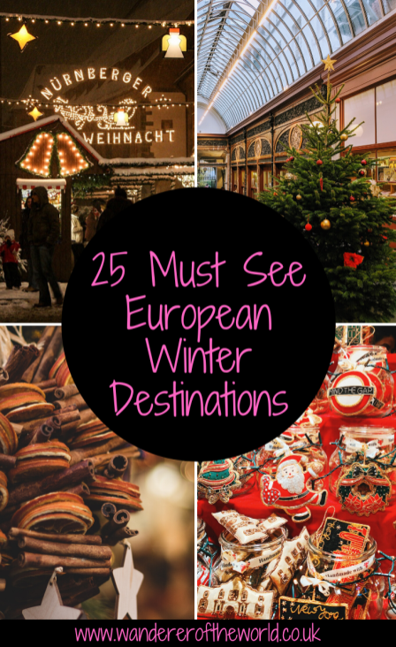 25 Utterly Charming Must See Places in Europe in Winter