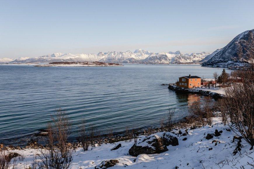 Lofoten Islands Fjord