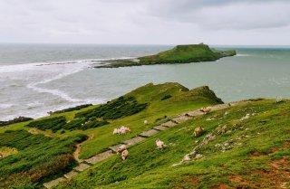 Rhossili coastal walk views
