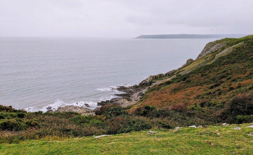 Views from Three Cliffs Walk, Gower Peninsula