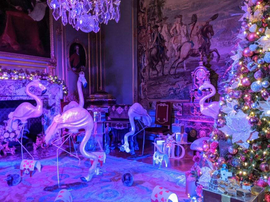 Flamingo & Hedgehog croquet at Blenheim Palace