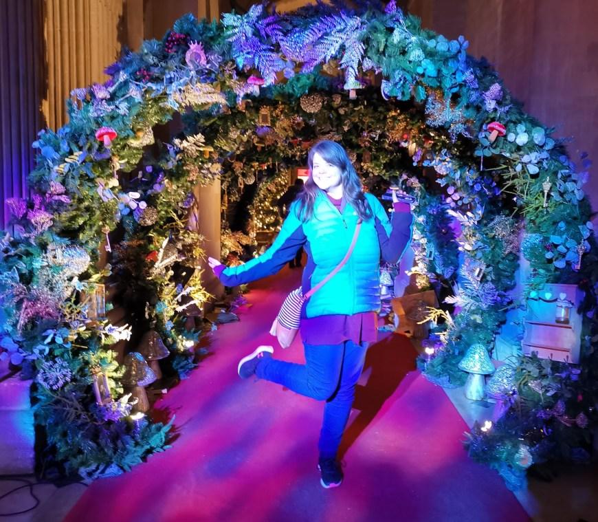 Justine frolicking into Wonderland at Blenheim Palace