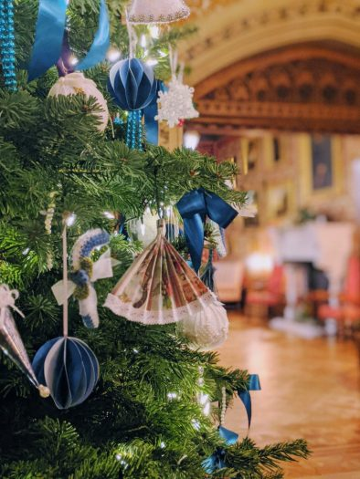 Victorian Christmas Decorations at Tyntesfield