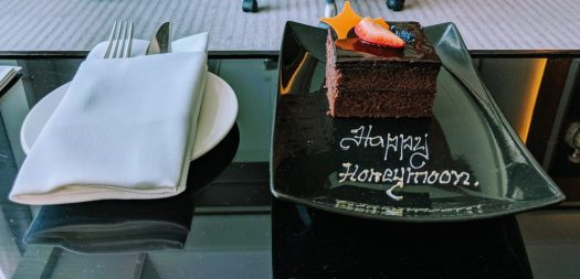 Chocolate Honeymoon Cake at Taj Dubai
