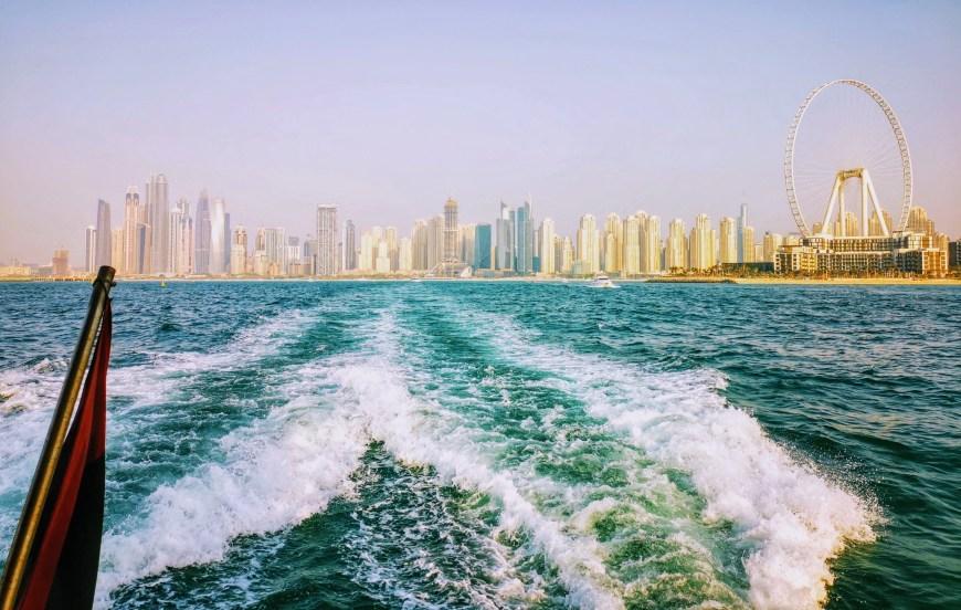 Dubai Ferry Cruise At Sunset