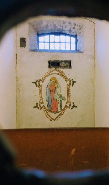 Inside a prison cell in Kilmainham Gaol, Dulbin