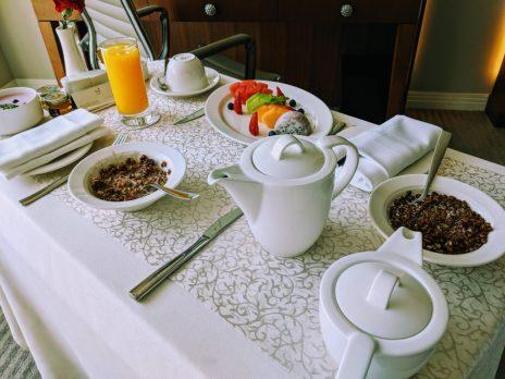 Room Service at the Taj Dubai