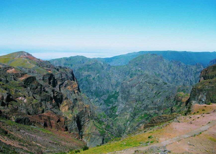 Views from the top of Pico do Arieiro, Madeira