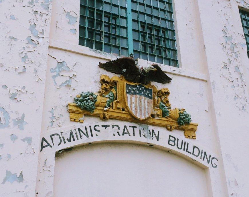 Administration Building at Alcatraz
