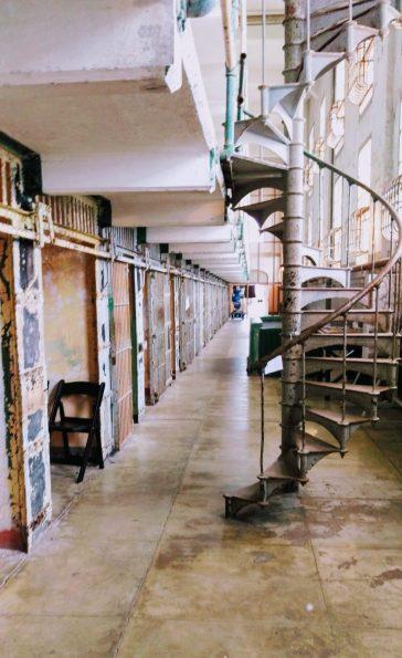Inside Alcatraz Prison, San Francisco