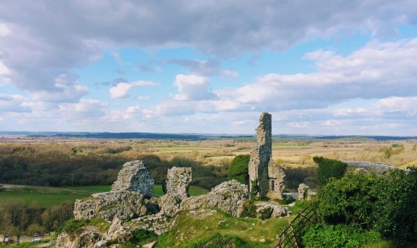 Views from Corfe Castle
