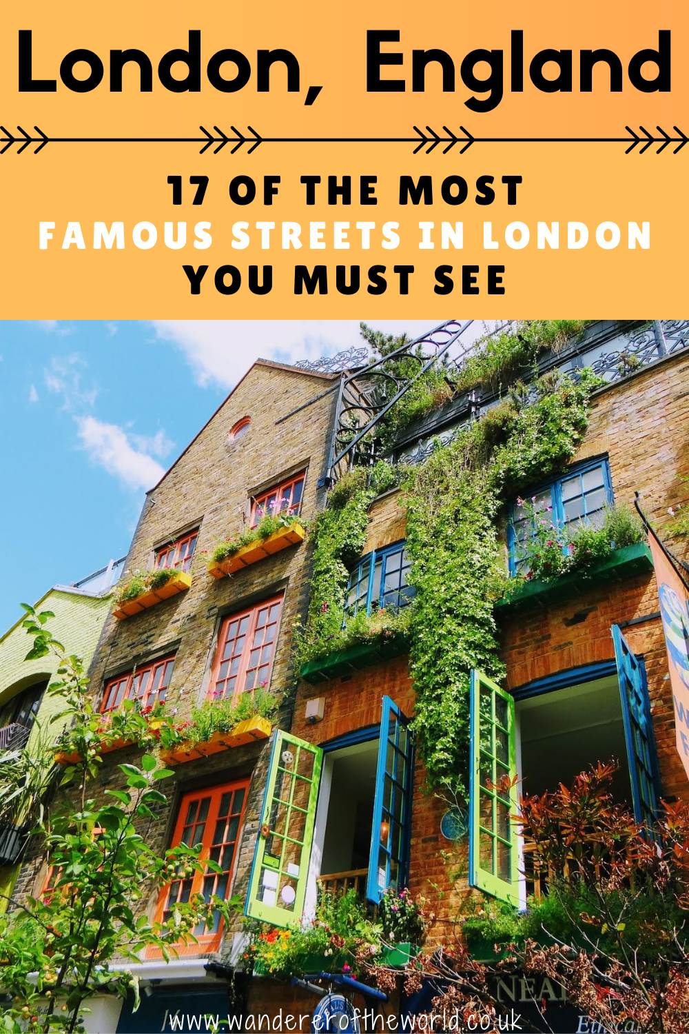 17 Famous Streets in London You Must See!