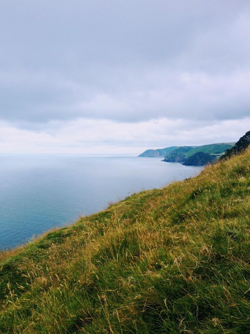 Coastal views from Heddon Valley, Devon