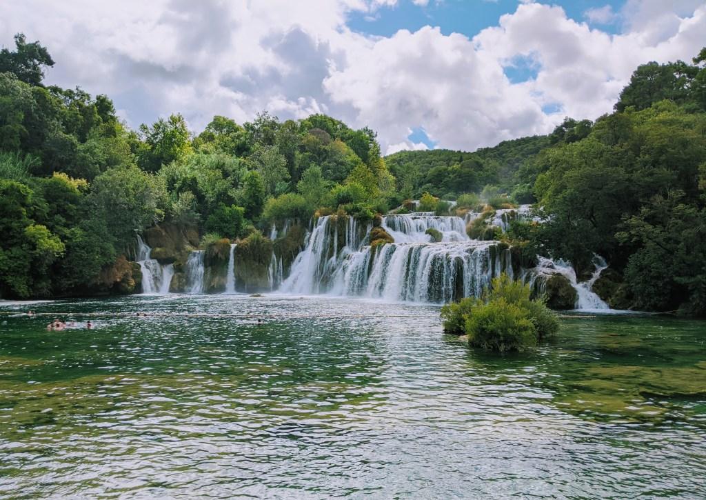 Skradinski buk in Krka National Park Croatia