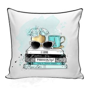 Travel-Inspired Throw Pillow