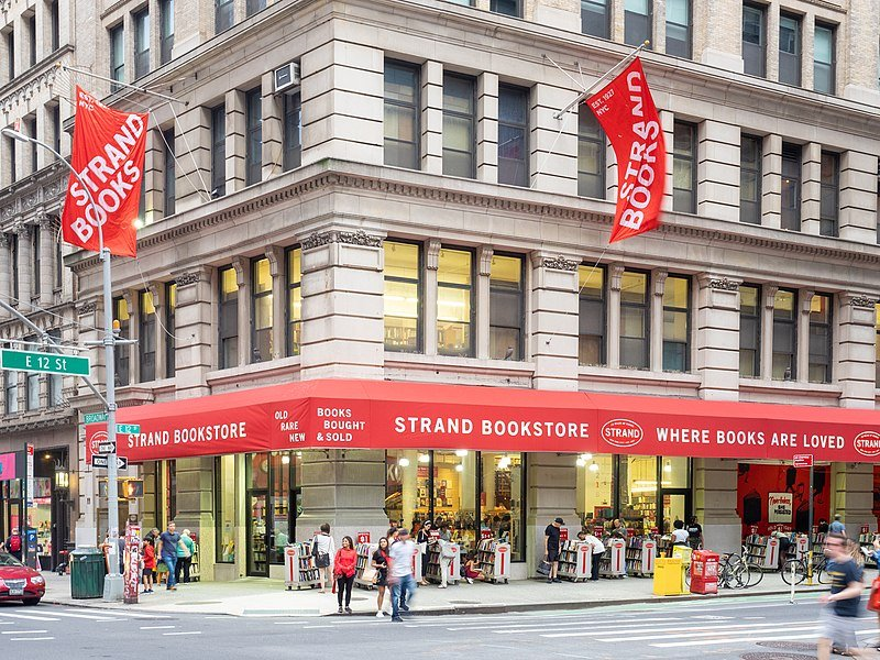 Dash & Lily Filming Locations: The Strand Bookstore