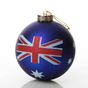 Travel Themed Christmas Ornament - Australian Flag