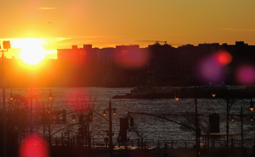 Hudson Yards Sunset New York City