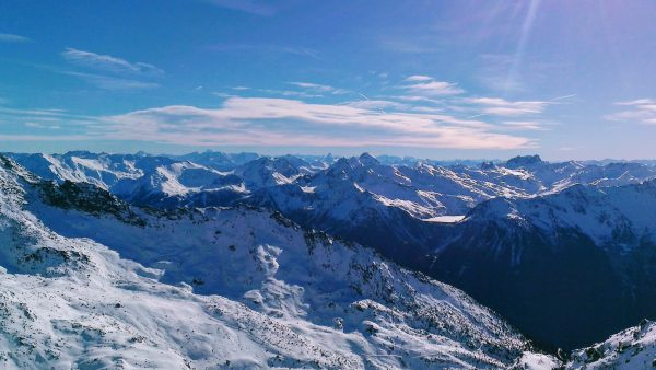 Views across the French Alps