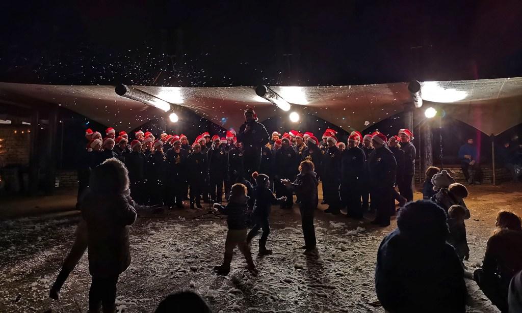 Carolers at Westonbirt Enchanted Christmas 2019