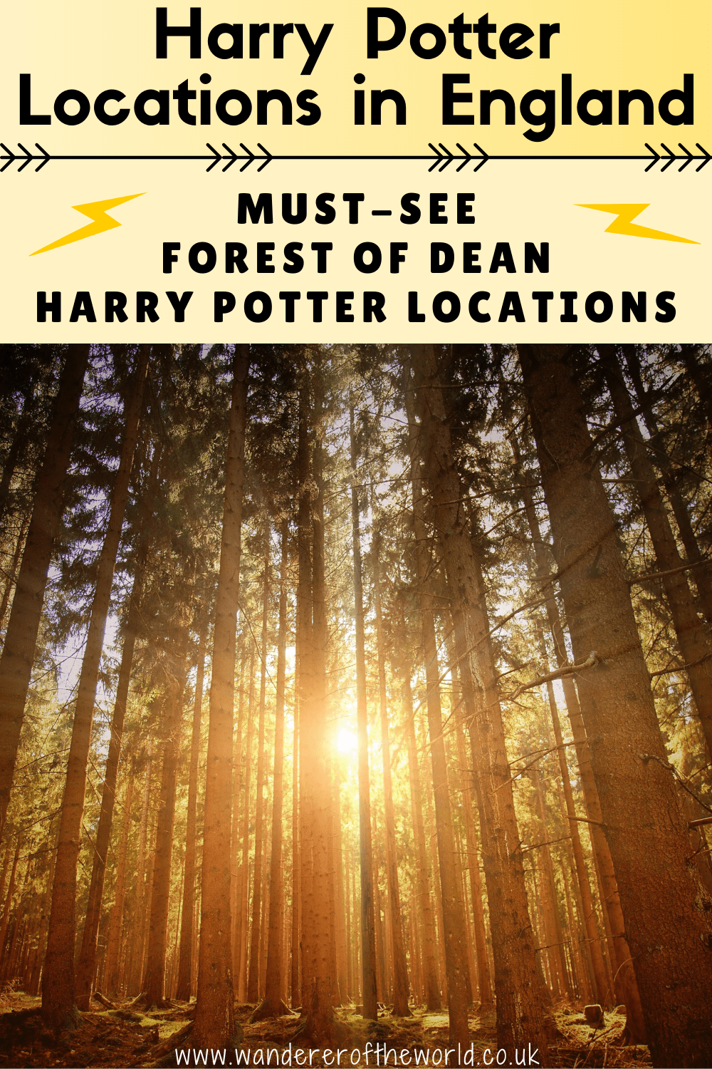 Must-See Forest of Dean Harry Potter Locations