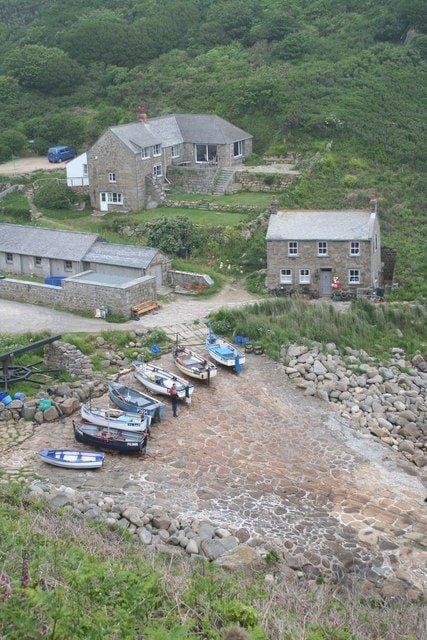 Poldark Filming Locations - Penberth Cove