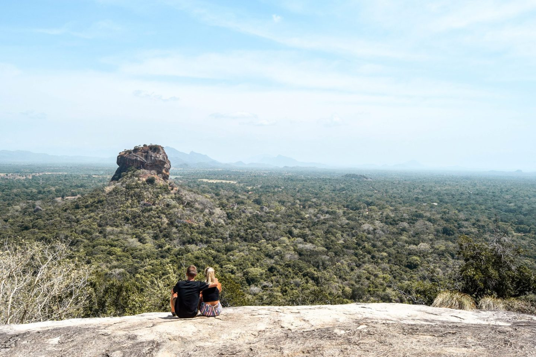 Wanderers & Warriors - Charlie & Lauren UK Travel Couple - Pidurangala Rock - A View That Rocks In Sigiriya Sri Lanka