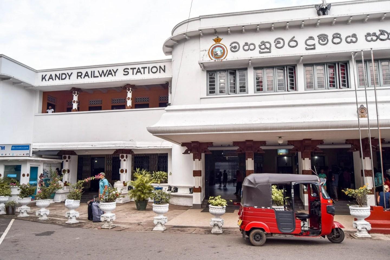 Wanderers & Warriors - Kandy To Ella Train Sri Lanka - Kandy Railway Station
