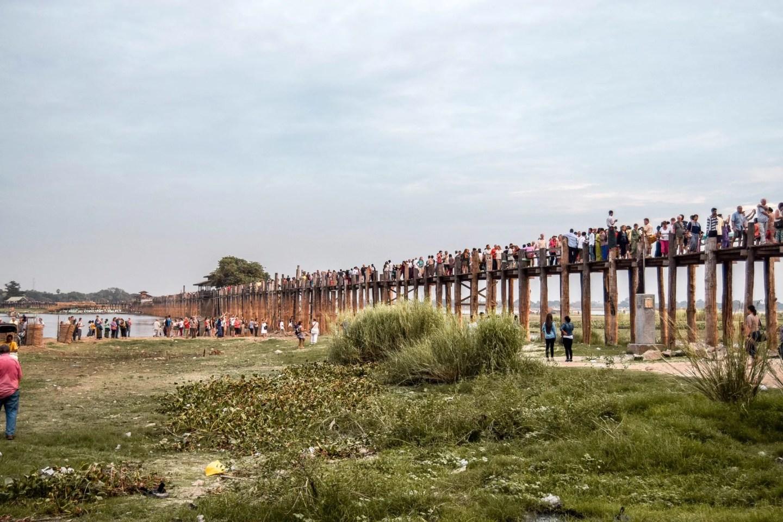 Wanderers & Warriors - Top 5 Things To Do In Mandalay - U Bein Bridge Myanmar
