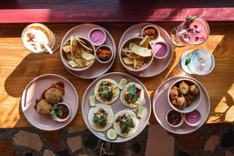 Wanderers & Warriors - Neon Palms Bali - Best Restaurants In Seminyak Restaurants