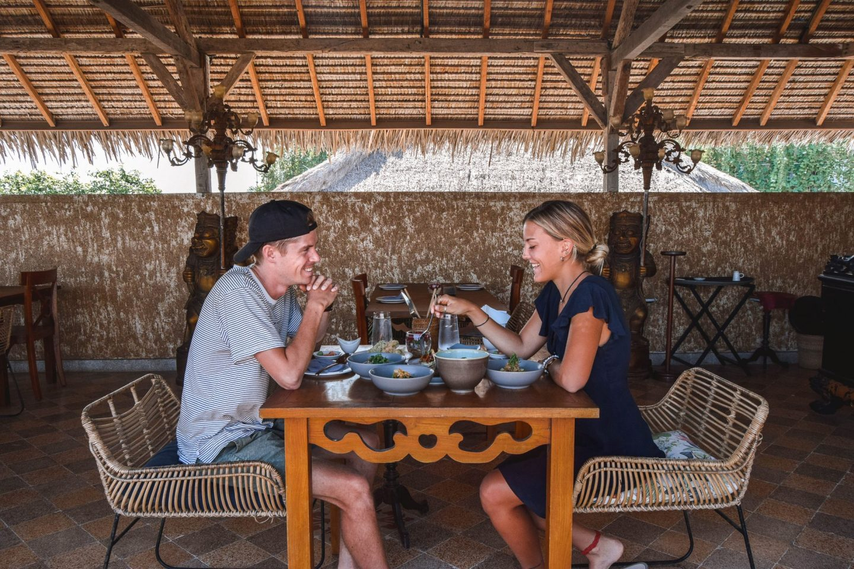 Wanderers & Warriors - Charlie & Lauren UK Travel Couple - Ji Restaurant Canggu Bali - Best Restaurants In Canggu Restaurants