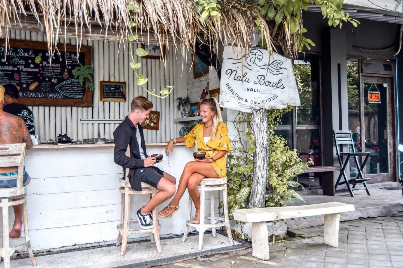Wanderers & Warriors - Charlie & Lauren UK Travel Couple - Nalu Bowls Seminyak - Best Restaurants In Seminyak Restaurants