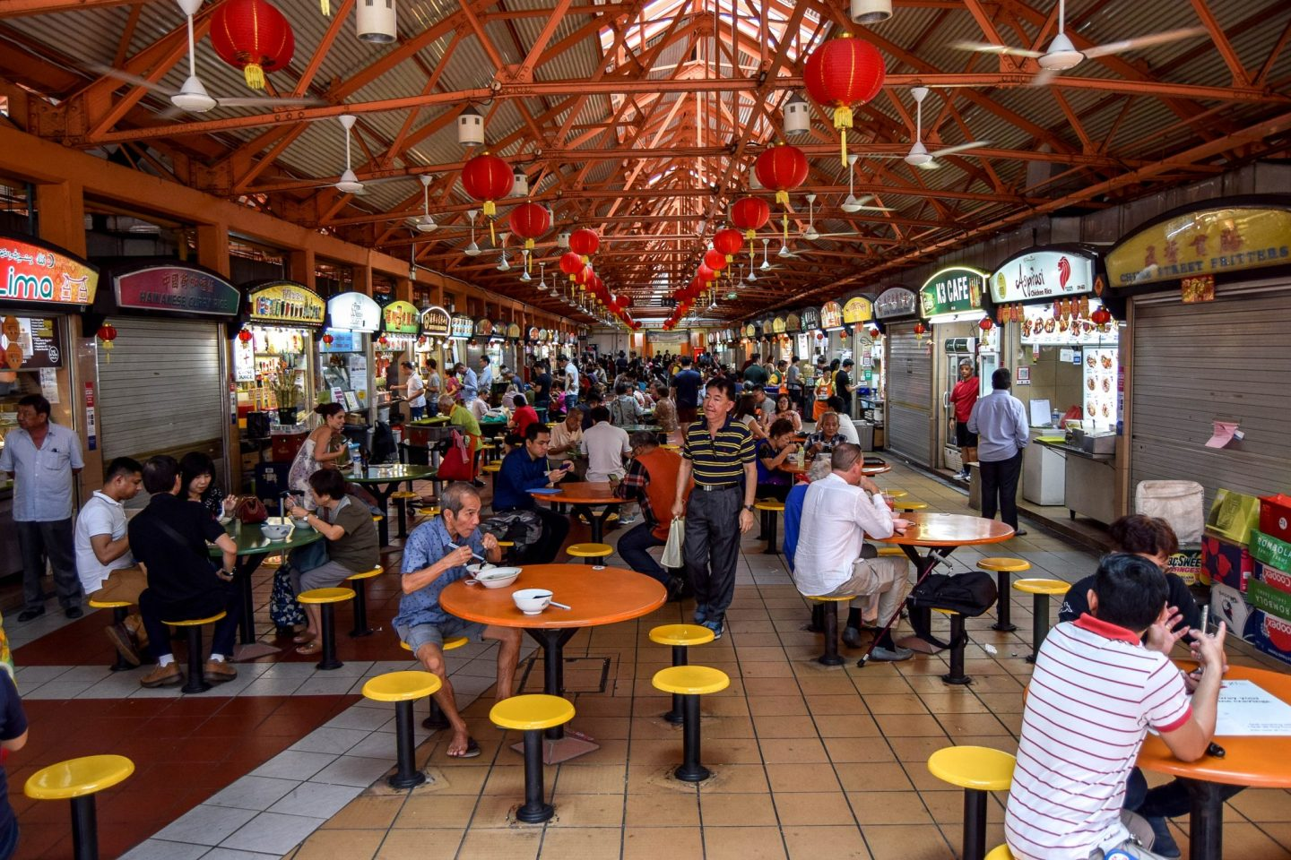 Wanderers & Warriors - Food in Chinatown Singapore – Maxwell Food Centre Singapore - Things To Do In Chinatown Singapore