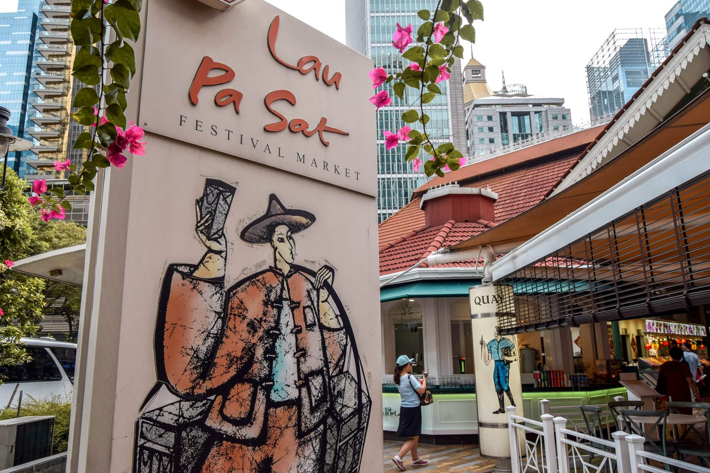 Wanderers & Warriors - Lau Pa Sat Food - Best Things To Do In Singapore Itinerary