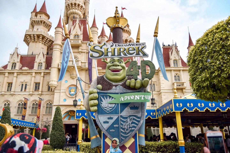Wanderers & Warriors - Shrek 4D - Universal Studios Singapore - Best Rides & Guide