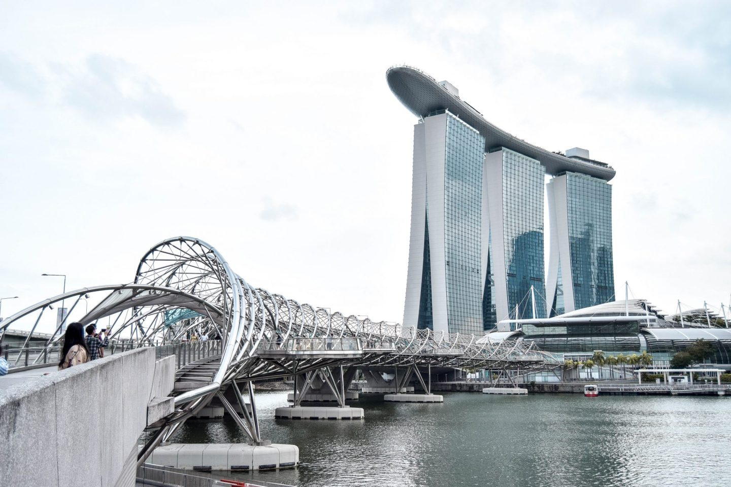 Wanderers & Warriors - Helix Bridge Marina Bay - Best Things To Do In Singapore
