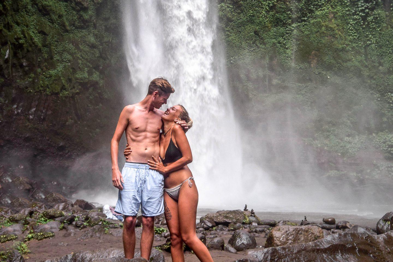 Wanderers & Warriors - Charlie & Lauren UK Travel Couple - Nungnung Waterfall Bali - A Complete Guide - Bali Waterfalls - Best Waterfalls In Bali - Waterfalls Near Ubud