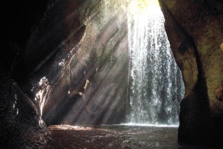 Wanderers & Warriors - Charlie & Lauren UK Travel Couple - Tukad Cepung Waterfall & It's Epic Rays Of Light - Bali Waterfalls - Best Waterfalls In Bali - Waterfalls Near Ubud - Famous Instagram Bali Locations